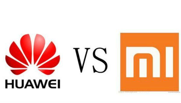 huawei versus Xiomi